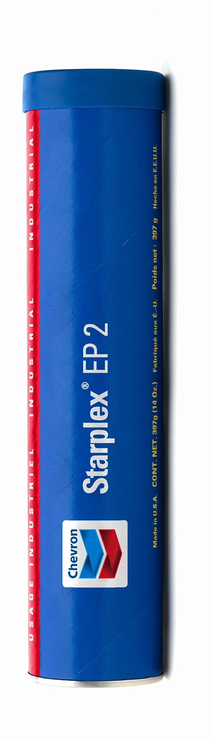 Chevron Starplex EP 2 Lithium Complex Grease | Case of 10 Tubes