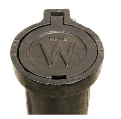Cast Iron Country Style Valve Box Upper - 24