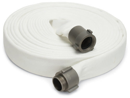 "1-1/2"" Double Jacket Fire Hose Assemblies c/w Brass NPSH Swivel Fittings Hose and Fittings - Cleanflow"
