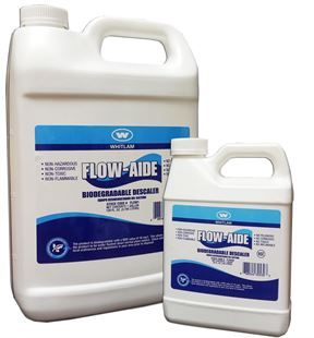 Whitlam Flow-Aide Biodegradable Descaler Commercial Water Filters and UV Parts - Cleanflow