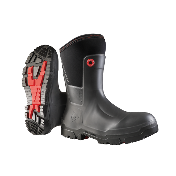 Dunlop Craftsman Full Safety Snugboot Work Boots - Cleanflow