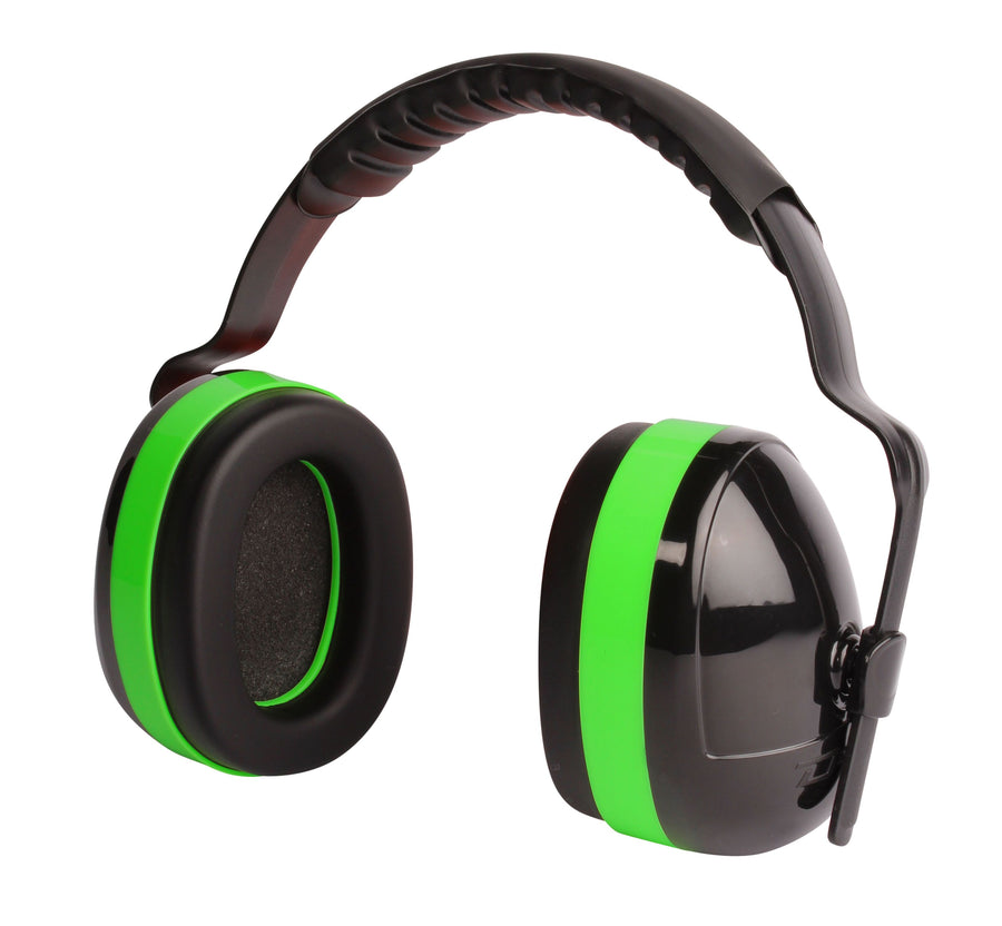 Dynamic Hercules Di-Electric Plastic Headbanded Earmuff - NRR 27 dB Personal Protective Equipment - Cleanflow