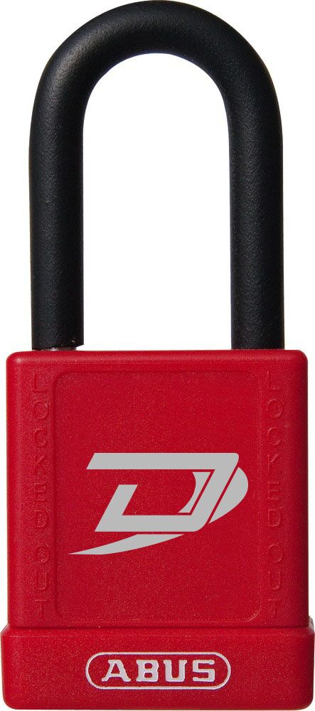 Dynamic Red Safety Lockout Padlock
