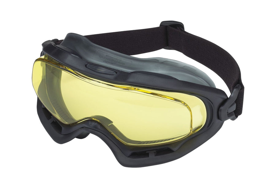 Dynamic Phantom Safety Goggles | Amber Lens Personal Protective Equipment - Cleanflow