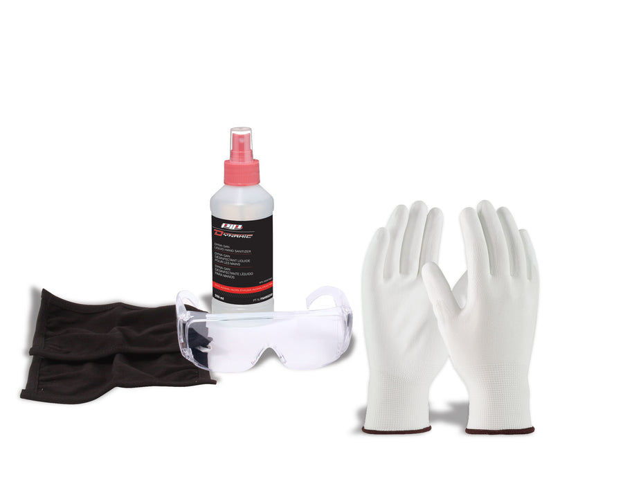 Dynamic Personal Sanitizing/Protection Kit Facility Safety - Cleanflow