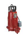 Liberty FL102A-2 Cast Iron Effluent Pump | 1 Hp | 208/230V Dewatering Pumps - Cleanflow