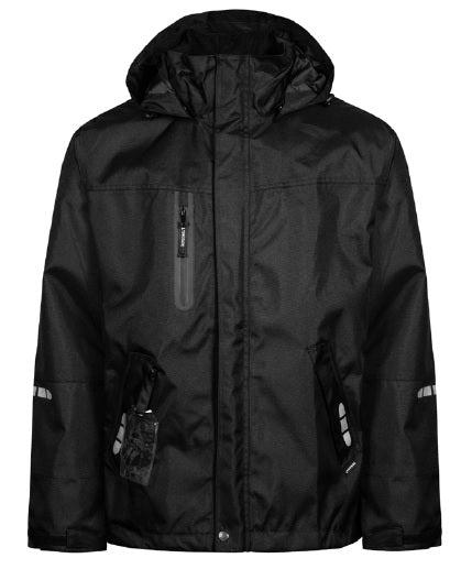 Lyngsoe FOX7057 Breathable Rain Jacket | Black | Sizes XS - 5XL