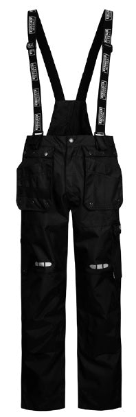 Lyngsoe FOX7083 Breathable Rain Trouser | Black | Sizes XS - 5XL