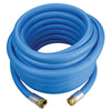 Blue Aqua High Pressure Industrial Robust Garden Hose Assemblies (Non-Kinking) Hose and Fittings - Cleanflow