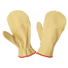 Tough Duck Unlined Leather Chopper Mitt Work Gloves and Hats - Cleanflow