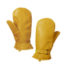 Tough Duck Adjustable Pile Lined Mitt - Tan Work Gloves and Hats - Cleanflow