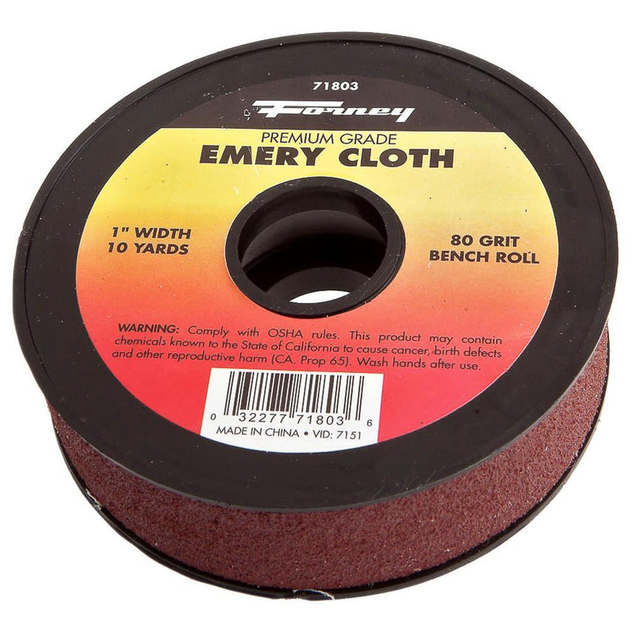 Forney Premium Grade Emery Cloth Rolls Pipe Tools - Cleanflow