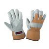 Tough Duck 100G Thinsulate Lined Split Leather Winter Work Gloves | M-2XL Work Gloves and Hats - Cleanflow