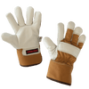 Tough Duck Pile Lined Premium Cowgrain Leather Winter Work Gloves | M-2XL Work Gloves and Hats - Cleanflow