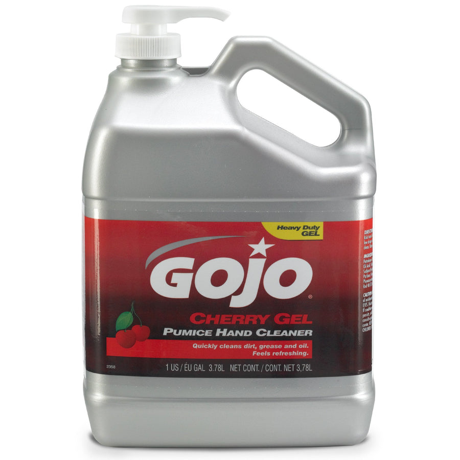Gojo Cherry Gel Pumice Hand Cleaner | 1 Gallon Janitorial Supplies - Cleanflow