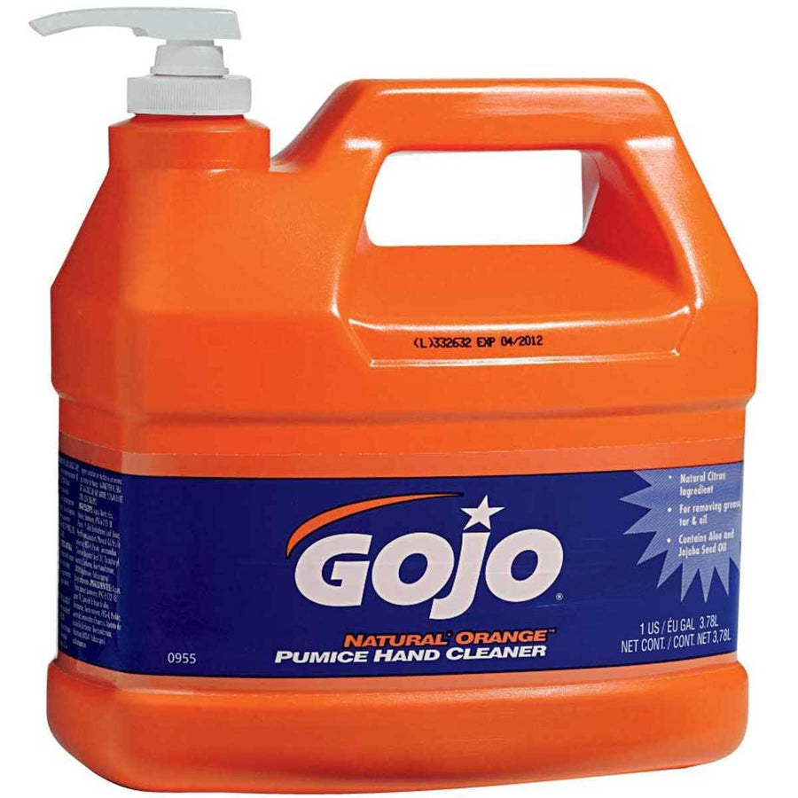 Gojo Orange Pumice Hand Cleaner | 1 Gallon Janitorial Supplies - Cleanflow