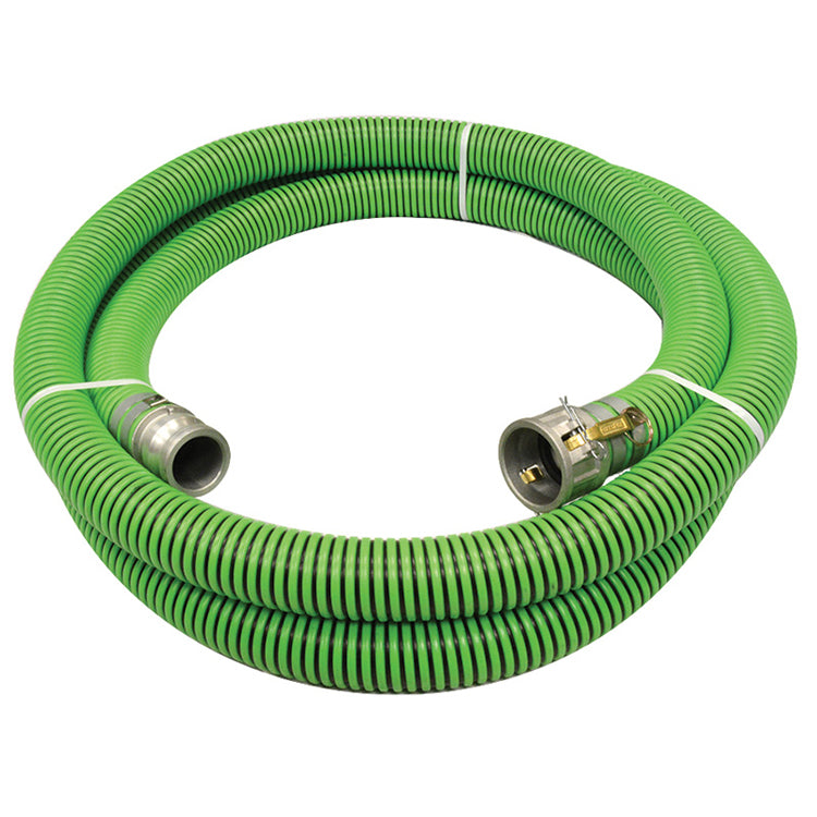 Tigerflex EPDM Sewage Suction Hose Assemblies (w/ Male X Female Camlocks) Hose and Fittings - Cleanflow