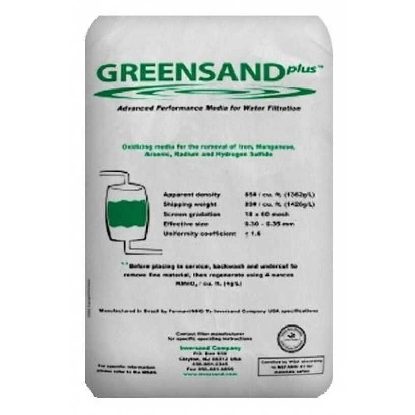 GreensandPlus Performance Media for Water Filtration Commercial Water Filters and UV Parts - Cleanflow