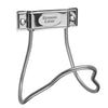 "Large Stainless Steel Hose Hanger - Capacity up to 100 Feet of 3/4"" Hose Hose and Fittings - Cleanflow"