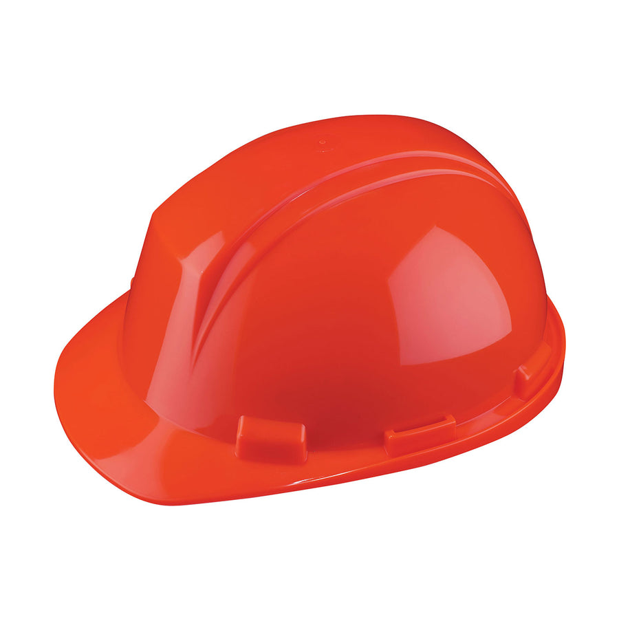Dynamic Mont-Blanc™ Front Brim 4-Point Ratchet Suspension Hard Hat - Type 2 | Orange Personal Protective Equipment - Cleanflow