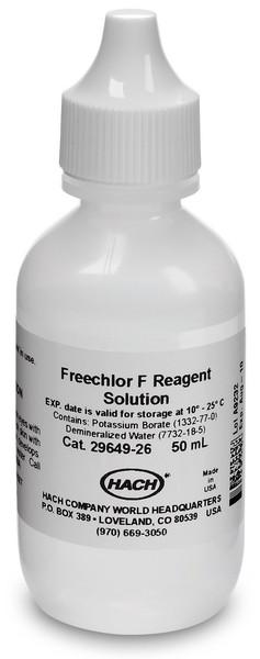 Hach 2964926 Freechlor F Reagent Solution | 50 mL Reagents - Cleanflow