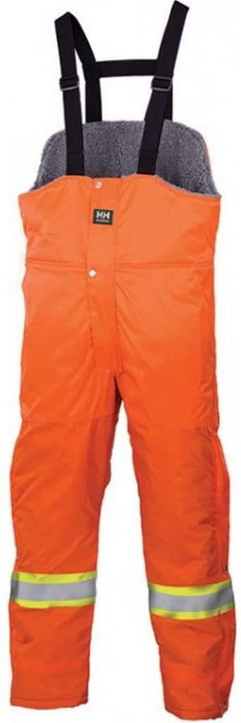 Helly Hansen Brandon Hi-Vis Winter Bib Overalls | Orange | Small - 5XLarge Hi Vis Work Wear - Cleanflow