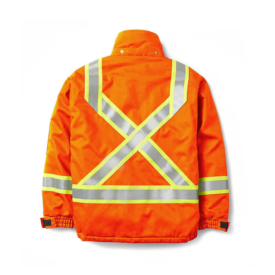 Rasco FR Hi-Vis Winter Bomber Jacket | Orange | S-5XL