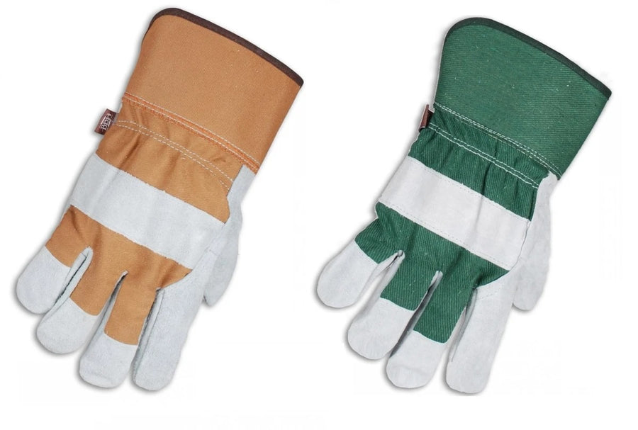 Horizon 100G Thinsulate Split Leather Winter Work Gloves | Pack of 6 Pairs
