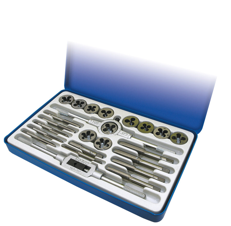 ITC 24 Piece Metric Tap and Die Set Hand Tools - Cleanflow