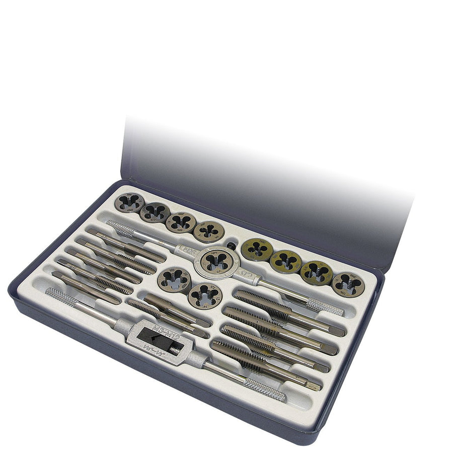 ITC 24 Piece SAE Tap and Die Set Hand Tools - Cleanflow