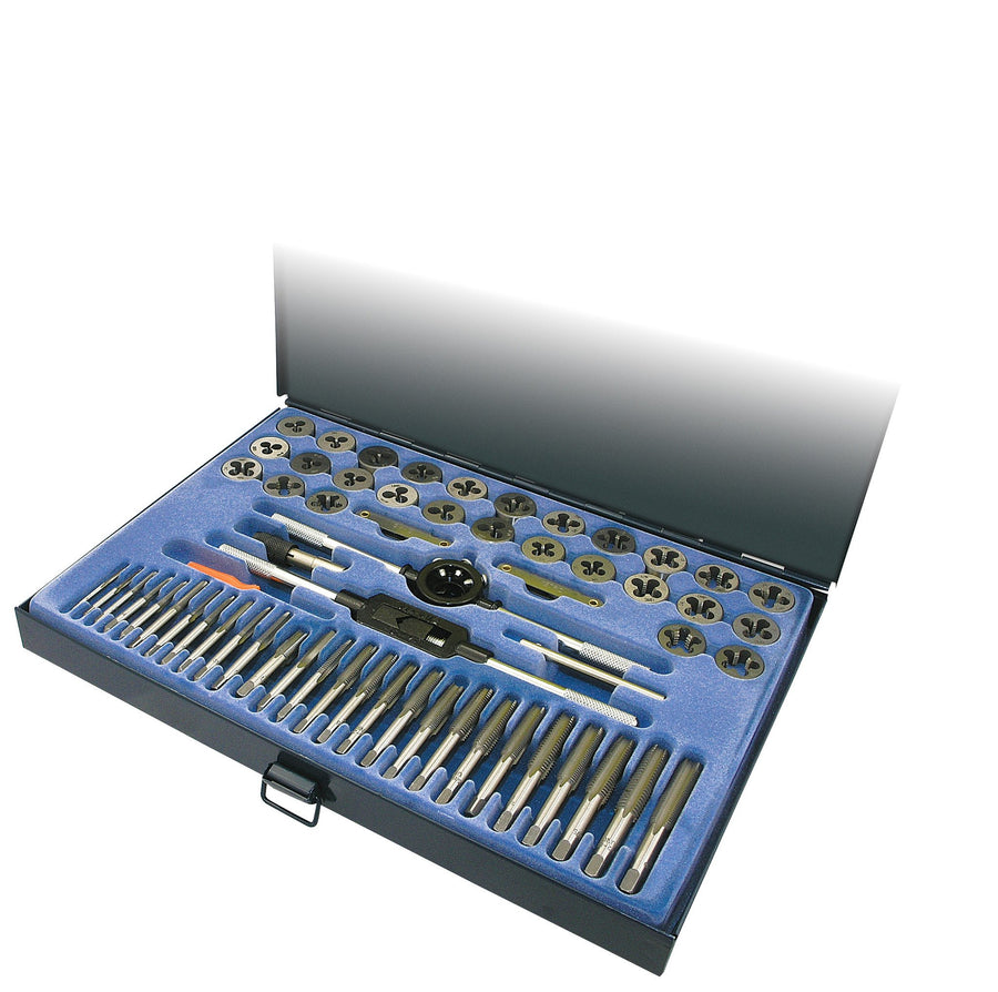 ITC 60 Piece SAE/Metric Tap and Die Set Hand Tools - Cleanflow