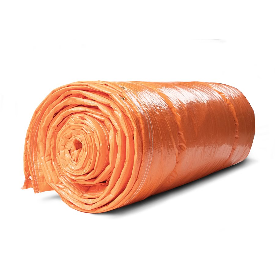 Orange Insulated Tarps Maintenance Supplies - Cleanflow