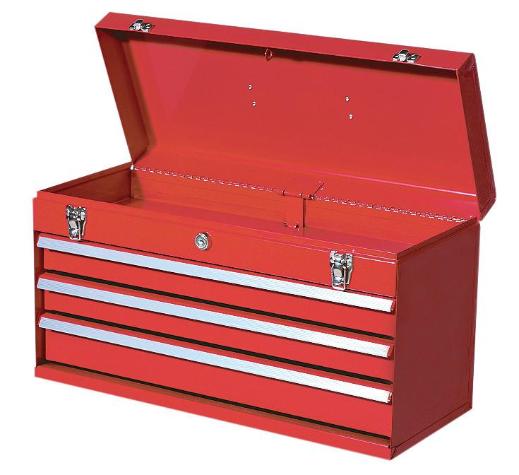 Jet 3-Drawer Steel Portable Tool Box Shop Equipment - Cleanflow