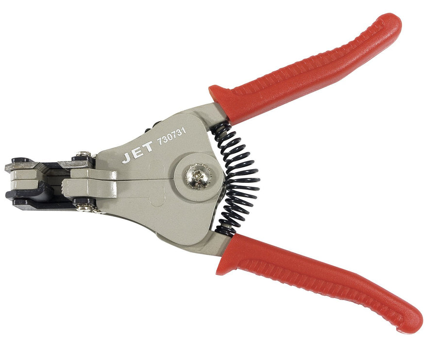 Jet 730731 Automatic Electrical Wire Stripper | 22 to 8 Gauge Wire Mechanic Tools - Cleanflow
