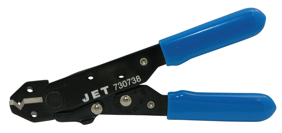 Jet 730738 V-Groove Wire Stripper Mechanic Tools - Cleanflow