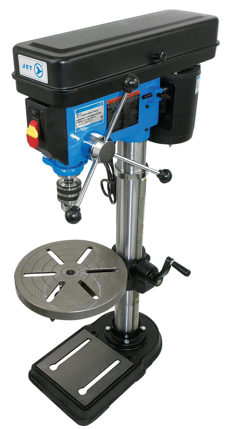 Jet Heavy Duty Bench Top Drill Press - 3/4 HP - 12 Speed