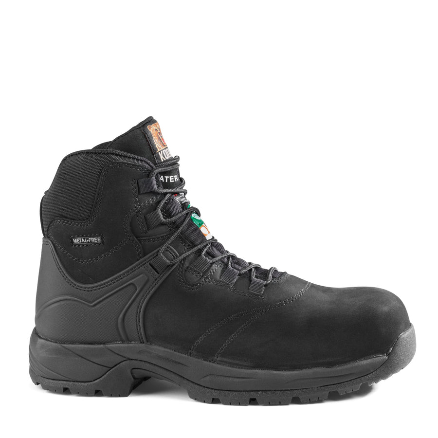 "Kodiak Journey Composite Toe 6"" Hiker Safety Work Boots 