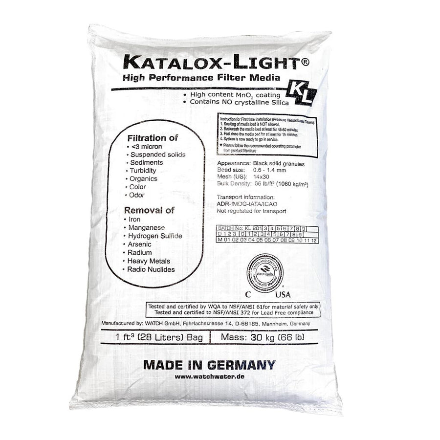 Katalox Light Advanced Filtration Media - 1 cu. Ft. Commercial Water Filters and UV Parts - Cleanflow