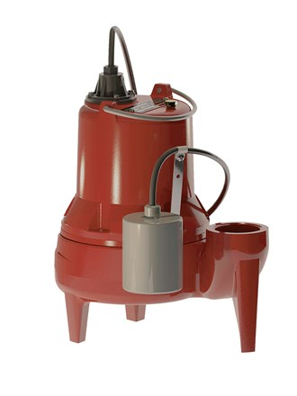 "Liberty LE51A-2 2"" Cast Iron Sewage Pump 