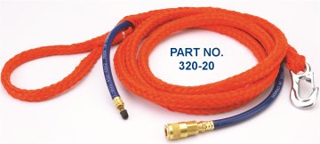 Lansas Test Plug Poly Lift Rope/Inflation Hose Waterworks Products - Cleanflow