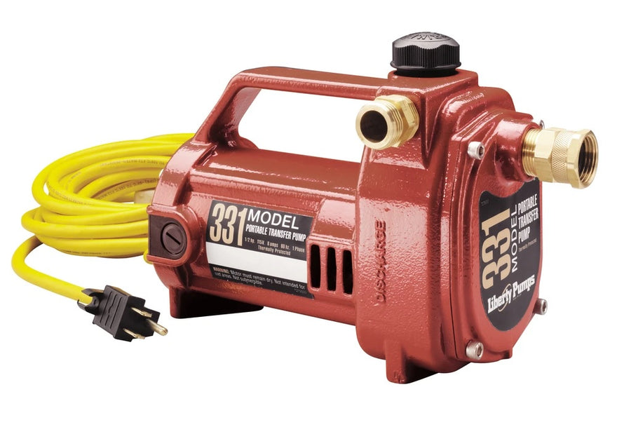 Liberty 331 Portable Transfer Pump | 1/2 Hp | 120V Dewatering Pumps - Cleanflow