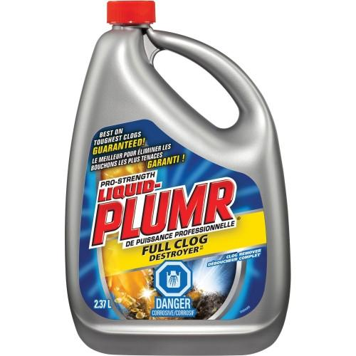 Liquid Plumr Full Clog Destroyer |  2.37L |  Cs/6 Janitorial Supplies - Cleanflow
