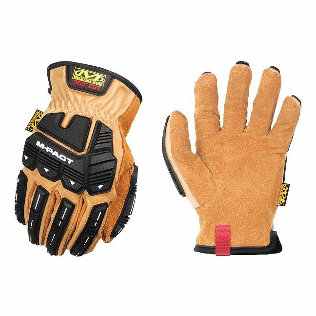 Mechanix DuraHide M-Pact Insulated Heavy Duty Winter Work Gloves Work Gloves and Hats - Cleanflow