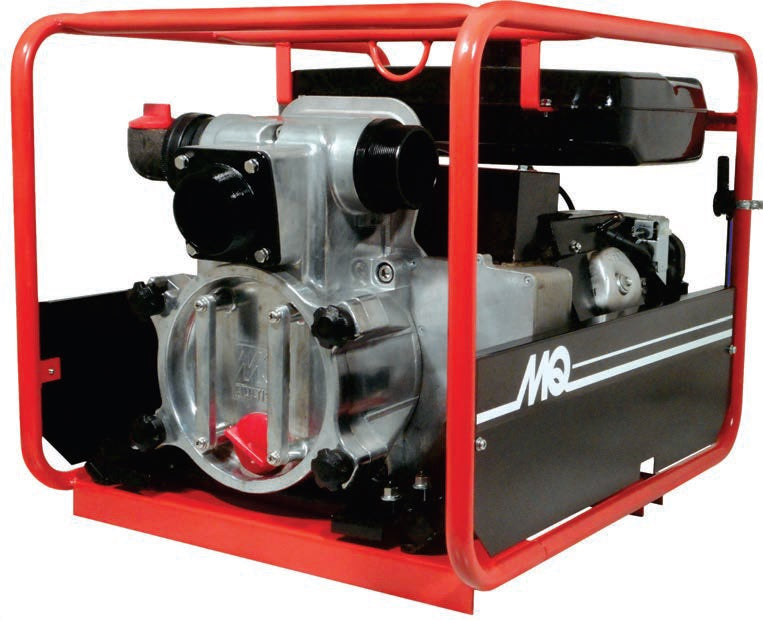 "Multiquip QP3THX Quiet-Run Gas Engine 3"" Trash Pump Sewage and Trash Pumps - Cleanflow"