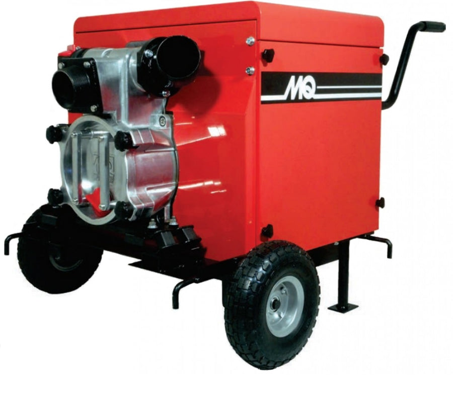"Multiquip QP3TS Portable Silent Fully Enclosed 3"" Trash Pump Sewage and Trash Pumps - Cleanflow"