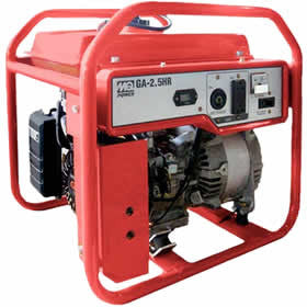 Multiquip Industrial Honda GX160 Engine Generator | 5.5 HP, 2500W