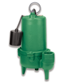 Myers MWS37 Series Heavy Duty 3/4 HP Cast Iron Submersible Sewage Pump - Cleanflow