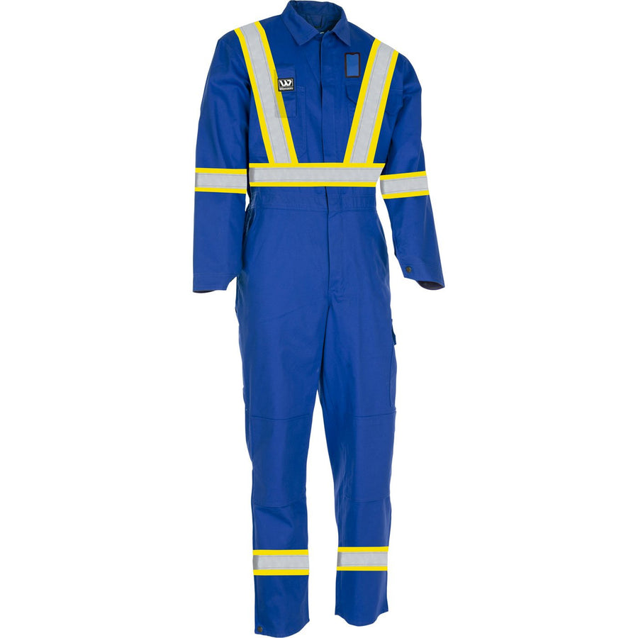 Wenaas CSA Luxe Coverall | Blue | Sizes S - 4XL Hi Vis Work Wear - Cleanflow