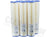 "Excelpure 20"" x 4.5"" OD Big Blue Pleated Polyester Water Filters - 20 Micron 
