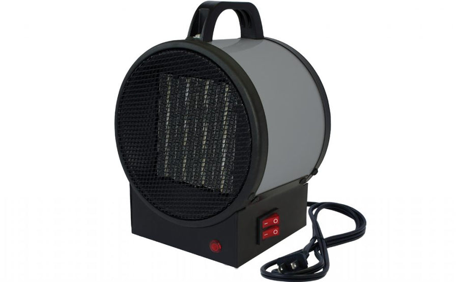 King Electric PUH Portable Utility Ceramic Heater | 120V 750/1500 Watt Facility Equipment - Cleanflow